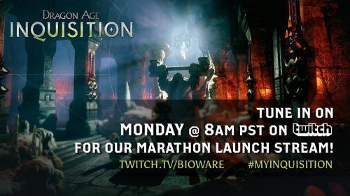 Новый стрим от разработчиков Dragon Age: Инквизиция