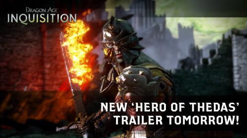 Новый трейлер Dragon Age: Инквизиция - уже сегодня!