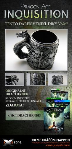 О предзаказе Dragon Age: Inquisition в Чехии