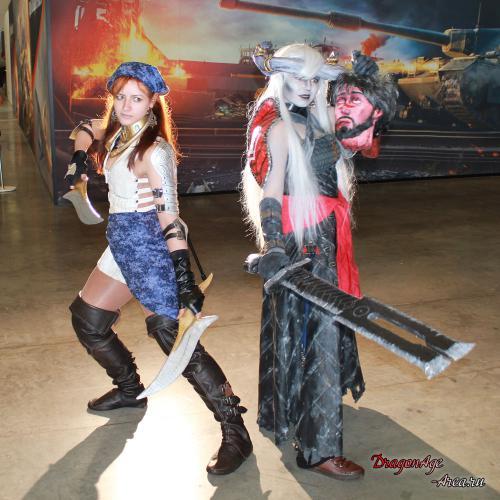 Dragon Age: Инквизиция - косплей с ИгроМир 2014