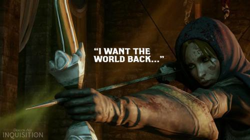 Новый опрос по Dragon Age: Inquisition!