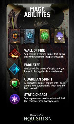 Dragon Age: Inquisition - способности магов