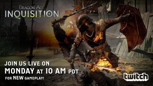 Новое геймплейное видео Dragon Age: Inquisition - уже скоро!