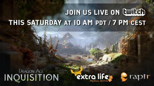Новый стрим от разработчиков Dragon Age: Инквизиция!