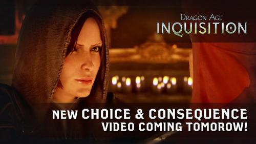 Новое официальное видео по Dragon Age: Инквизиция - уже сегодня!